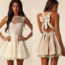 dress lace bow bow back dress sleeveless mesh part