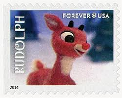 2014 49c rudolph bumble sale mystic stamp company