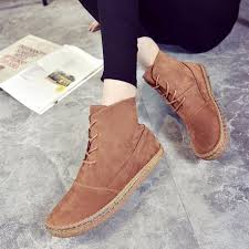 womens casual boots size 11 us size 5 11 boots lace up toe casual outdoor
