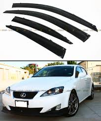 2006 2013 Lexus Is250 Is350 Is F Jdm Vip Clip On Smoke Window