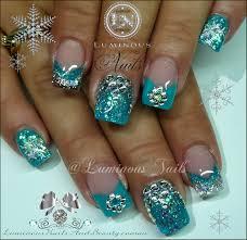 luminous nails nail it pinterest nails turquoise