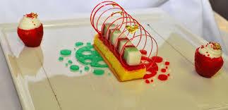 photo plat cuisine gastronomique nos desserts bouchées d exception