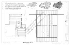 115 40 x 44 custom cabin plans blueprints construction drawings floor plan nice features allow it to be built into a hillside and overlook the valley below get this plan and ten other cabin plans in a package deal
