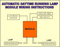automatic daytime running lights wiring kit car builder