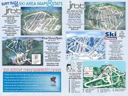 Happy Maps Peak Pocono Mountains Ski Resorts Trail Maps U0026 Guide This Week