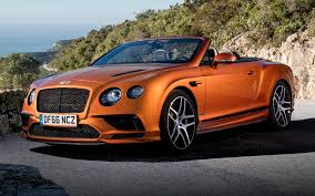 orange bentley bentley continental supersports convertible 2017 wallpapers and