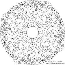 creative artwork mandala coloring pages adults kids aim