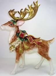 fitz and floyd bellacara deer figurine fitz and floyd inc