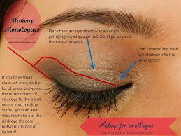 makeup monologues smokey eyes for small close set eyes decoded 1 of