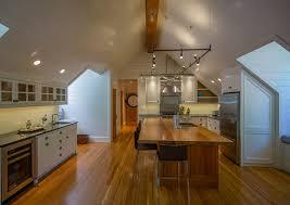 Pine Ceiling Boards by Reclaimed Wood Beams