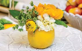 fruit floral arrangements create summer floral arrangements in fruit southern mag