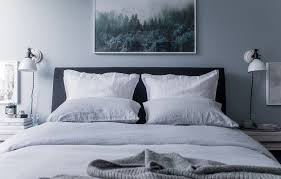 Blue Linen Bedding - morning rituals with parachute home u0027s linen bedding