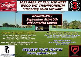 2017 pgba kc 12u fall midwest wood bat championship honoring caleb