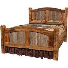 Rustic Queen Headboard by Western Queen Headboard Natural Barnwood Prairie Bed