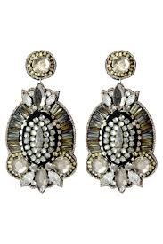 suzanna dai earrings gemstone shield earrings by suzanna dai for 30 rent the runway