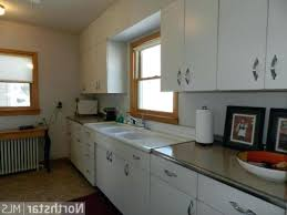 repainting metal kitchen cabinets how to paint metal kitchen cabinets look like wood homedesignview co