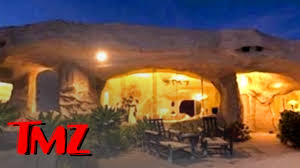dick clark flintstone house photos dick clark s flintstones inspired mansion tmz youtube