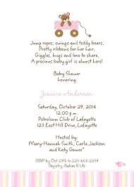 what to say on a baby shower invite 14080