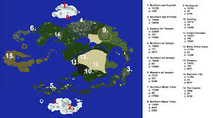 Coordinates Map Server Server Map With Coordinates Thelastairbender