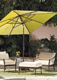 Cantilever Patio Umbrella With Base Offset Umbrella Base Blocks In Soulful Aluminum Cantilever Patio