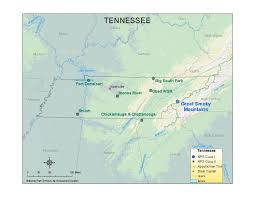 Chattanooga Tennessee Map by Nps Explore Nature Air Resources Division U2013permits Aris U2013state