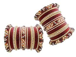 my design lac maroon bridal wedding chura lakh bangles for women
