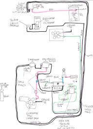 central air conditioner wiring diagram on split and ac compressor