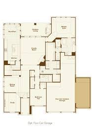 Four Car Garage by New Home Plan 244 In Argyle Tx 76226