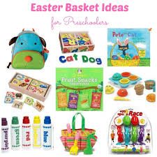 ideas for easter baskets for toddlers candy free easter basket ideas my healthy happy home
