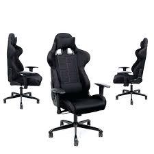 fauteuil de bureau gaming fauteuil de bureau sport rocambolesk superbe chaise