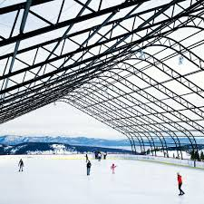 top ice skating rinks in the west sunset
