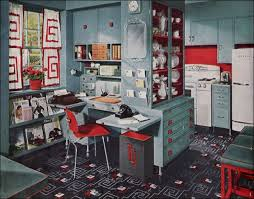 1948 mid century kitchen design multifunction retro style