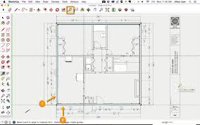 draw a floor plan in sketchup from pdf tutorial and plans sketchup
