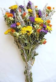Small Vase Flower Arrangements Dried Flower Bouquet Bunch