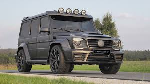 2016 mansory gronos black edition based on mercedes g63 amg review
