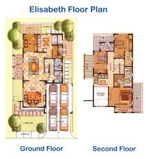 Versailles Floor Plan by Versailles Elisabeth Model House And Lot For Sale Alabang