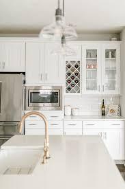 glass cabinets in white kitchen modern white kitchen glass cabinets laurenda photography