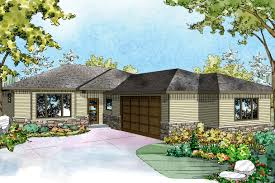 garage tuck under garage house plans sloped lot house plans with