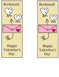 cool bookmarks print boys valentine day tierra este 91109