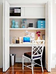 dans un bureau closet home office ideas