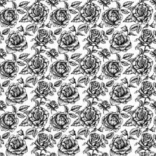 theme black rose black and white rose pattern myspace layout home2 totally