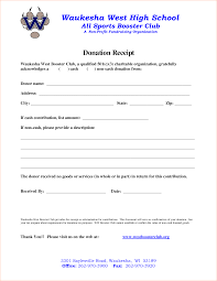charitable donation receipt template 28 images sle donation