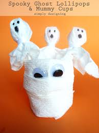 spooky ghost lollipops and mummy cups halloween kidscraft