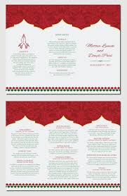 indian wedding program template 30 best indian wedding images on hindus indian