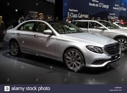 mercedes hybrid car geneva switzerland march 7 2017 mercedes e class e350e