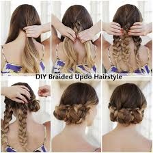 hairstyles for teachers diy braided updo hairstyle diy ideas by you