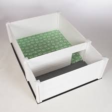 3 ft x 3 ft whelping box deluxe canine whelping box