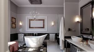 Modern Bathroom Decoration Bathroom Beautiful Bathroom Wallpaper Designs And Decor Oval