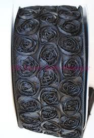 4 rosette ribbon wholesale wired rosette ribon wipe