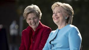 where does hillary clinton live elizabeth warren goes after donald trump at clinton rally over
